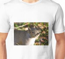 Cute Squirrel saying hello Unisex T-Shirt