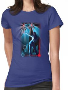All night disco party Womens Fitted T-Shirt