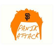 Panik Attack Art Print