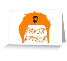 Panik Attack Greeting Card
