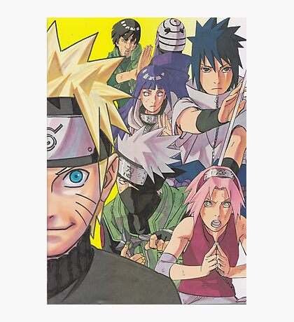 Naruto Photographic Print