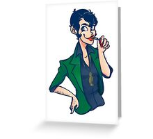Lady Lupin Greeting Card