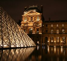 The Louvre by Sarah Matthews