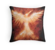The Mocking Fire Throw Pillow