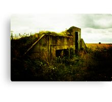 bunker Canvas Print
