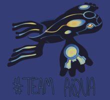 Pokemon / Team Aqua Tee by ZeonAce