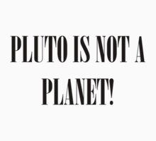 Pluto Is NOT A Planet! by HermLoth