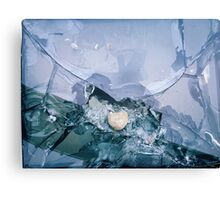 broken tv  Canvas Print