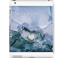 broken tv  iPad Case/Skin