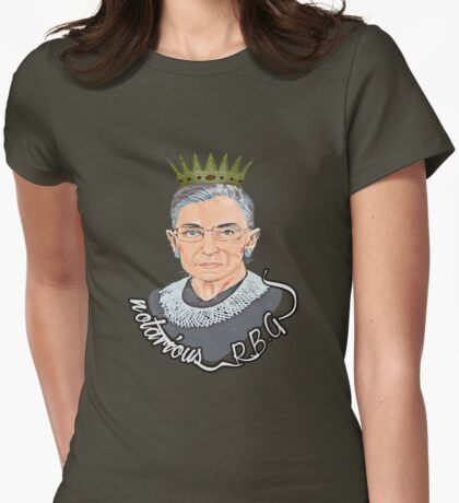 notarious rbg Womens Fitted T-Shirt