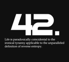 The meaning of life is 42 T-Shirt