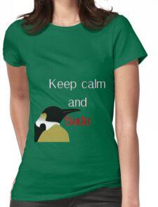 Sudo Penguin Womens Fitted T-Shirt