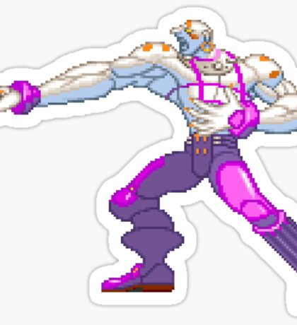 Street Fighter - Necro Sticker