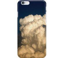 CUMULUS CLOUDS IN HIGH CONTRAST iPhone Case/Skin