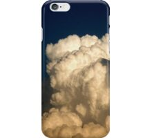 CUMULUS CLOUDS IN HIGH CONTRAST iPhone Case/Skin