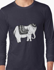 Asian/Indian Inspired Elephant Long Sleeve T-Shirt