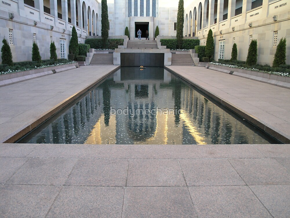 reflection-war memorial take 2 by bodymechanic
