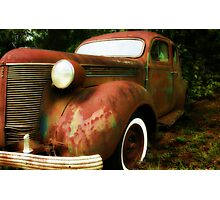 This Old Car Photographic Print