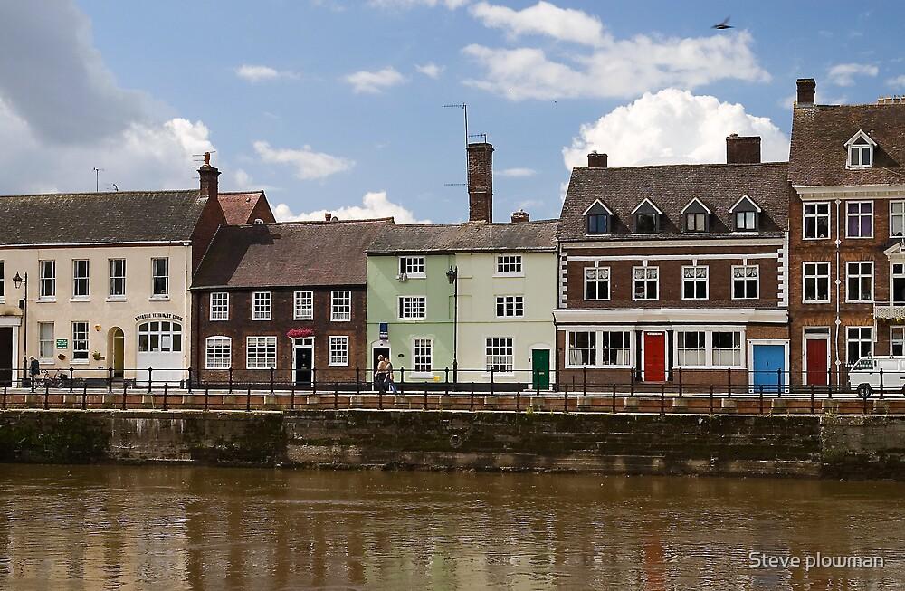 Riverbank by Steve plowman