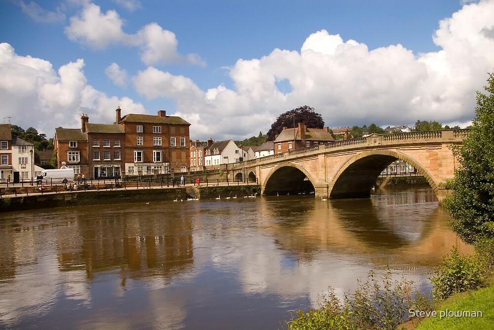 River Severn by Steve plowman