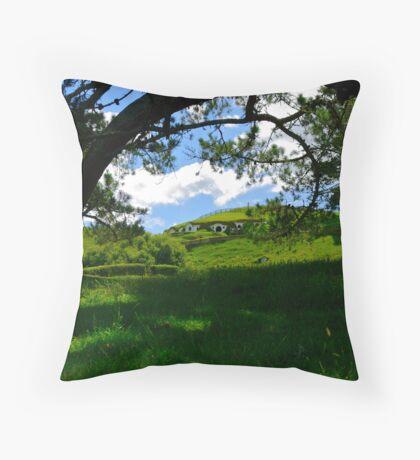 Hobbiton lives on... Throw Pillow