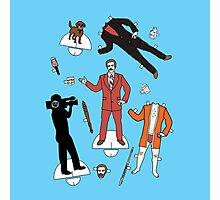 Cut It Out: Ron Burgundy Photographic Print