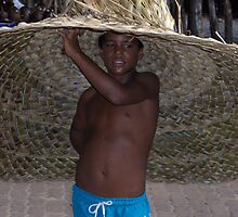 Boy with hat Praire de porte Brazil by keshabap