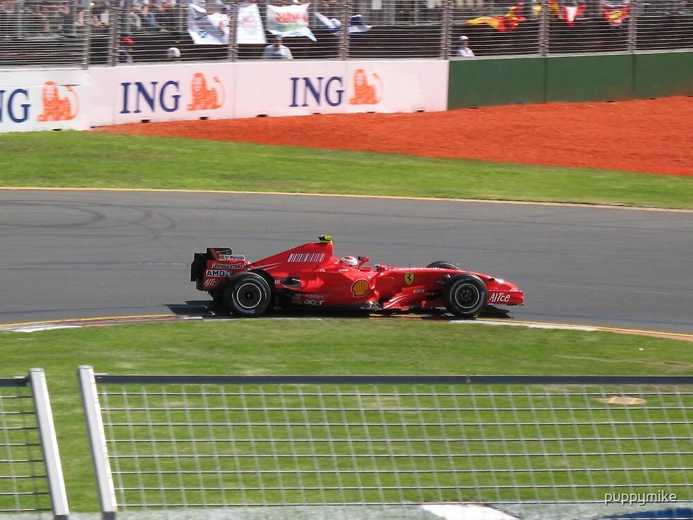 Kimi Raikkonen - Ferrari by puppymike