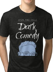 Open Mike Eagle Dark Comedy Minimal Vector Tri-blend T-Shirt