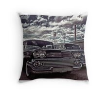Nothin' But Sky and Chevy's Throw Pillow