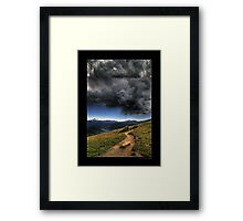 Mountain Thunder Framed Print