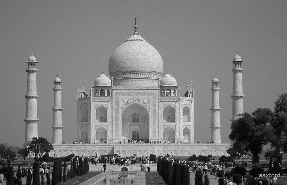 Taj Mahal, India by aaxford