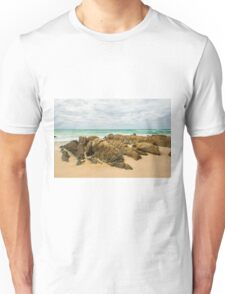 Waves and beach at Snapper Rock, New South Wales Unisex T-Shirt