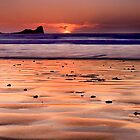 Gower Sunset II by Alex Clark