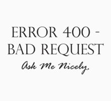 Error 400 by HermLoth