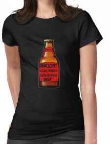 Beerologist Womens Fitted T-Shirt