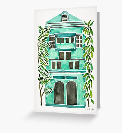 The Grotto – Mint Palette Greeting Card
