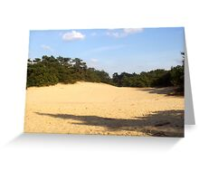 sanddunes in the netherlands Greeting Card