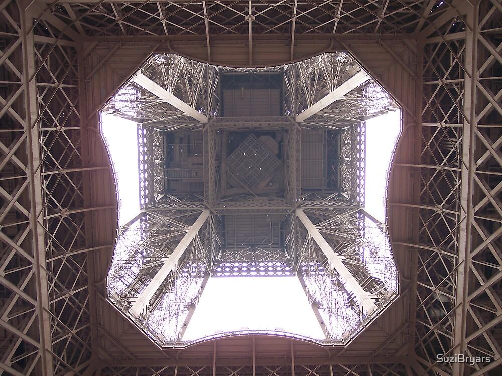 Underneath the Eiffel Tower by SuziBryars