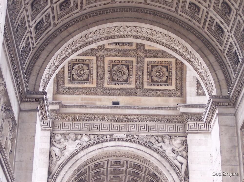 Paris architecture 2 by SuziBryars