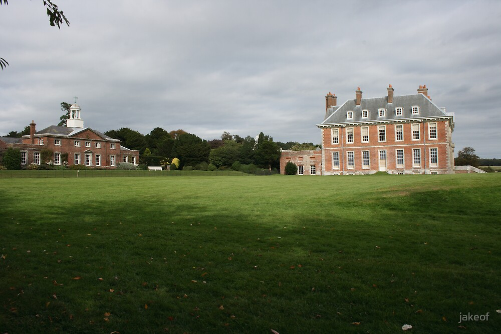 Uppark House View From South West by jakeof