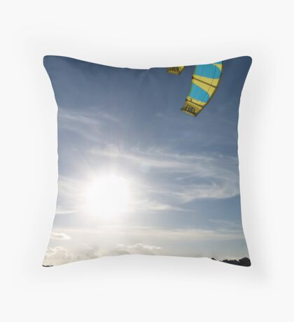 Kite 3 Throw Pillow