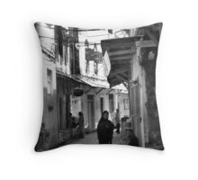 Stonetown experience Throw Pillow