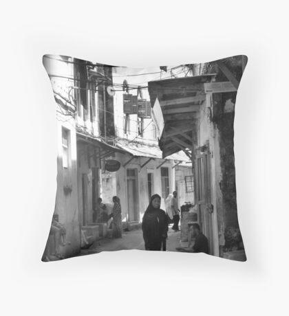 Stonetown experience Throw Pillow