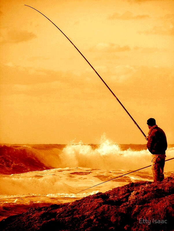 Fisherman by Etty Baruch