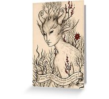 Fae (Card) Greeting Card
