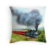 Old Iorn Horse Throw Pillow