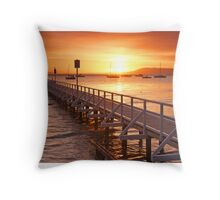 Cameron's Bight Dawn Throw Pillow