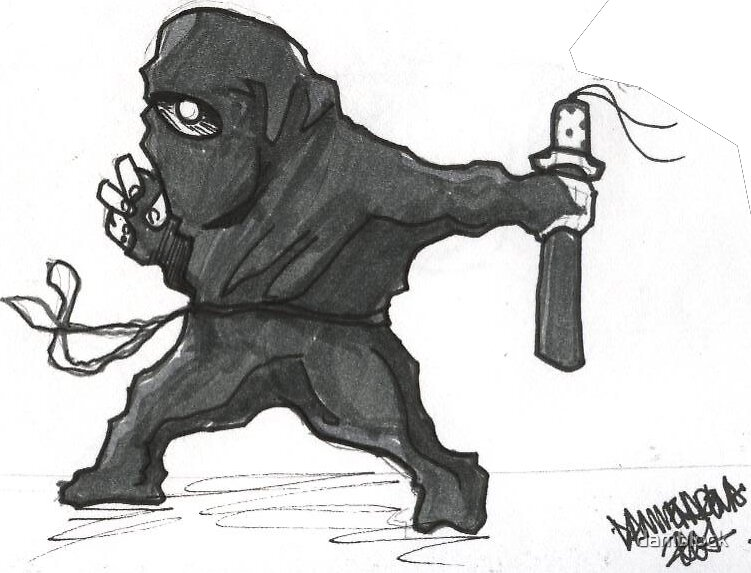 cool ninja by damblock