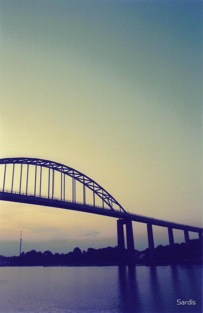 Sunset Bridge by Sardis